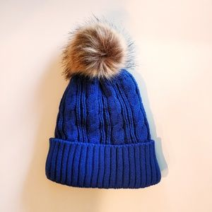 006fdf8dc0750 Accessories - Fleece Lined Beanie Hat with Pom. New.